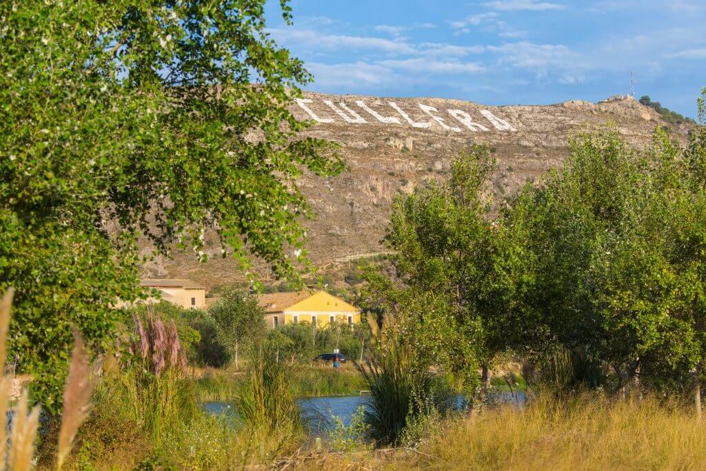 Montaña de Cullera desde el Azud