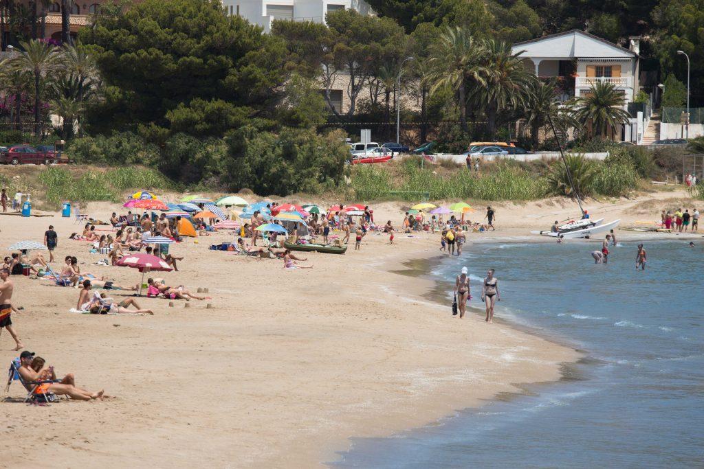 playa de cap blanc cullera - beach houses valencia