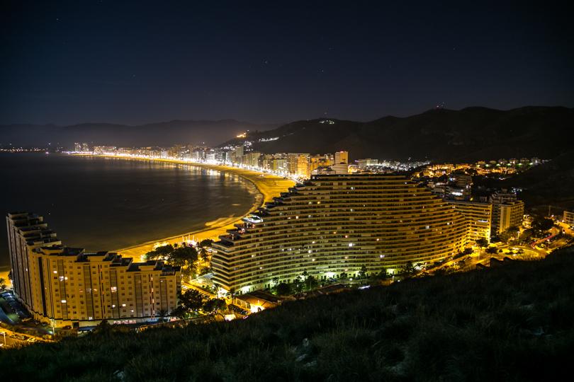 playa de cap blanc - beach houses valencia