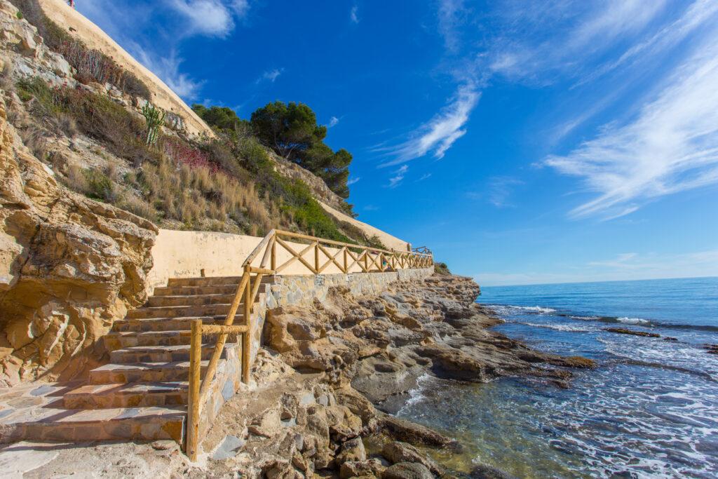 cala punta estrella Moraira - beach houses valencia